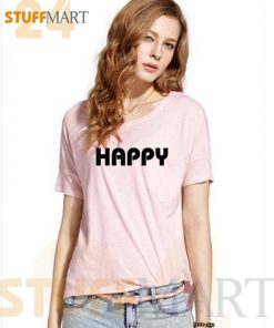 Tshirt happy – Tshirt Adult Unisex Size S-3XL