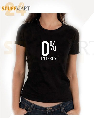 Tshirt 0 interest – Tshirt Adult Unisex Size S-3XL