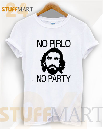 Tshirt no pirlo no party – Tshirt Adult Unisex Size S-3