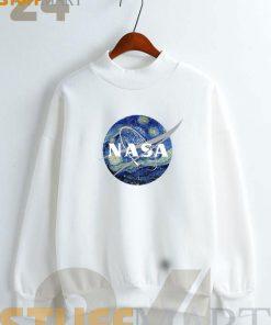 Nasa Logo Van Gogh Sweatshirt