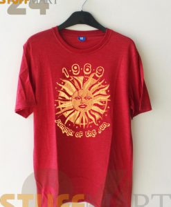 Tshirt 1969 summer of the sun  - Tshirt Adult Unisex Size S-3 XL