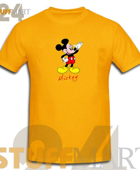 Looking Mickey Mouse