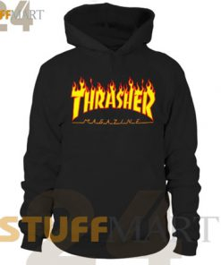Thrasher Magazine – Hoodies Adult Unisex Size S-3XL