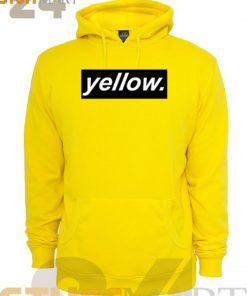 Hoodies Yellow – Hoodies Adult Unisex Size S-3XL