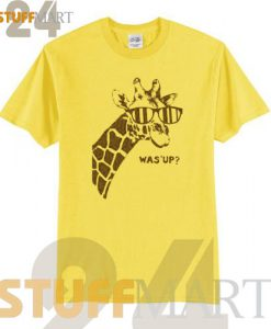 Tshirt Youth Giraffe What's Up - Tshirt Adult Unisex Size S-3XL