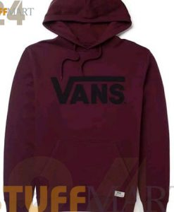 Hoodies NEW VANS Large Burgundy - Hoodies Adult Unisex Size S-3XL